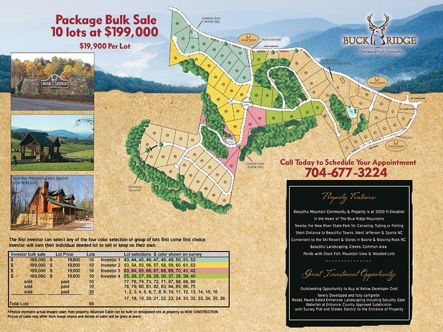 Buck Ridge Postcard