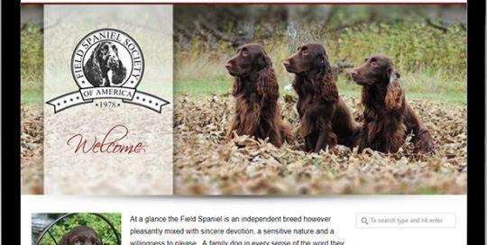 Field Spaniel Society of America