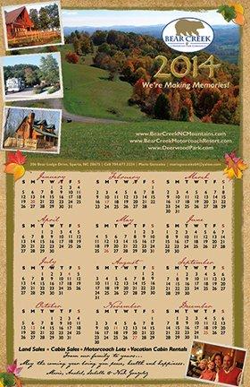Deerwood Park Calendar