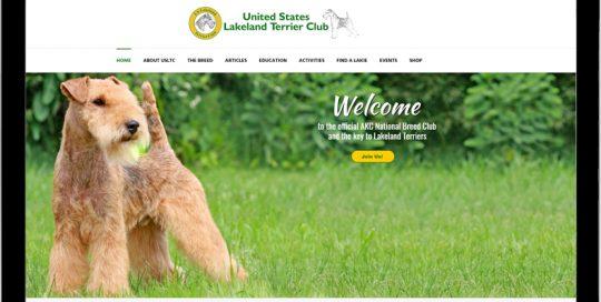 United States Lakeland Terrier Club website image.