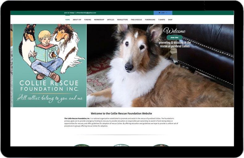 Collie Rescue Foundation website.