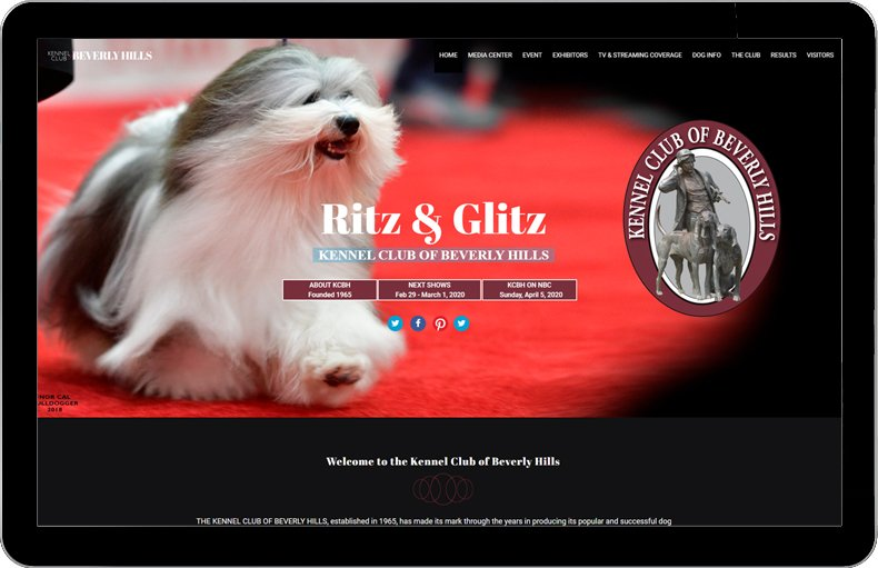 Kennel Club of Beverly Hills - links to the site.